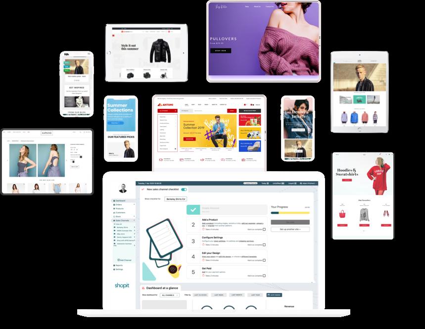 Multi site ecommerce